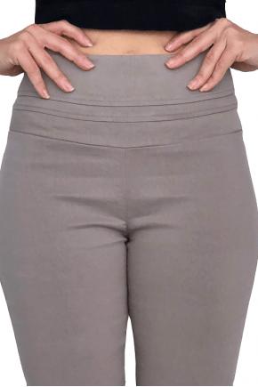 Calça SKINNY Cintura Alta ARGILA em Bengaline