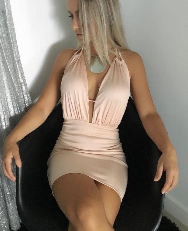 Vestido de Festa Decotado Rose